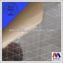 Plata de un solo lado para techos& de embalaje de papel de aluminio de aislamiento