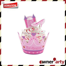 Top Sale High Quality Best Price Baby Shower Cupcake Picks