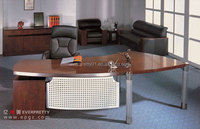 Office Furniture Steel Table Executive Desk and Moving Cabinet