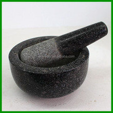 Manufacture stone mortar and pestle/ cooking sets/kitchen utensil for herb and spice tools
