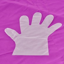 Pe disposable household gloves HDPE Gloves