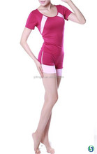 Plastic waist yoga women gym wear casual sport hot pants fitness factory direct sale for sexy girls wholesale china