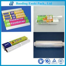 Price list for food grade LDPE wrap film by Alven Baoding enshipack