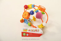 wooden beads kids wood educational toys baby ball