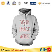 Moda jersey de cuello redondo, custom sublimación 3d suéter modelo para hombre