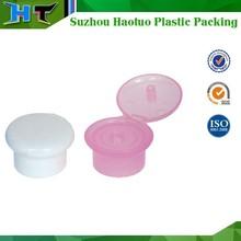 28/410 high quality mushroom plastic flip screw top cap