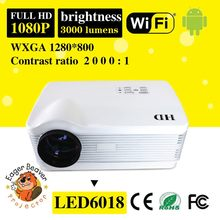Android wifi dlp led 3d projector best gift trade assurance supply android wifi led lcd projector android4.2 wifi led projector