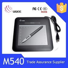 Ugee M540 drawing tablet 5x4 inches cute graphic tablet for kids