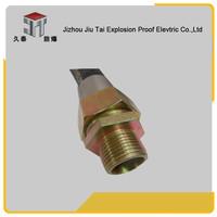 Cheap famous hot sale galvanized carbon st Explosion Proof flexible conduit/ pipe with PVC material