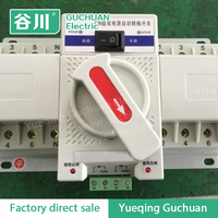 dual power supply changeover switch CB dual power supply Automatic Transfer Switch Mini type 63/4P