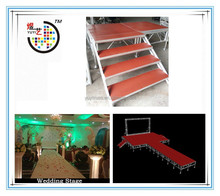 Aluminium frame wooden platform outdoor stage From Foshan YUYI