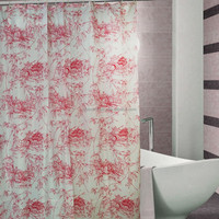 colorful shower curtain home use shower curtain/polyester shower curtain fabric/custom shower curtain