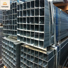 TOP KING MS Carbon Black Steel Square Tube/Galvanized /Pre Galvanized Square Tube