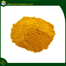 Iron oxide yellow for acid stain concrete
