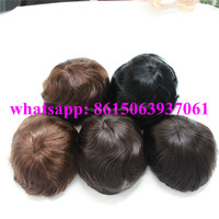 Indian Human Hair 0.06mm Super Thin Skin Invisible Knot Men Toupee