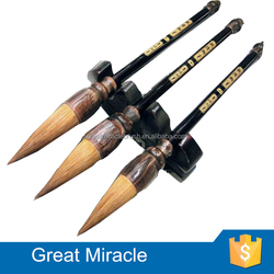 Antique chinese calligraphy writing pen brush set