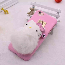 For iPhone 6/6s Plus - Silicone TPU Cartoon flash bulb egg fair young heart case for iPhone 6/6s Plus