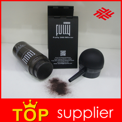 Fully Hair Fiber Raw Material New Products 2016