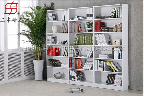 NEW Design In Home Book White Shelf Cabinet