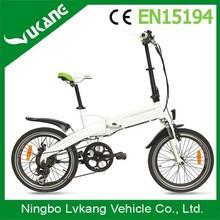 2015 Factory New Design Folding Electric A Bike