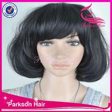 2014 Heigh quality wig New arrival fashion quality wigs hongkong short curly bob wigs