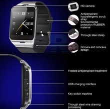 Wholesale price smart watch bluetooth phone, android bluetooth smart watches for iphone, samsung, HTC