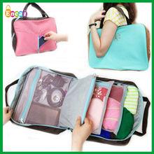 Encai Manufacture New Design Ndigo Travel Tote Bag/Multifunction Handbag Organizer/Tower Logo Shoulder Bag
