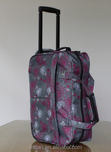 Men and women Trolley bag luggage stand abreast portable metal trolley travel bag & travel luggage