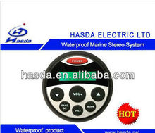 waterproof car/marine mp3 player with bluetooth
