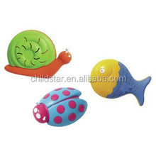 OEM colorful cat toys animal shaped design silicone pearl beads