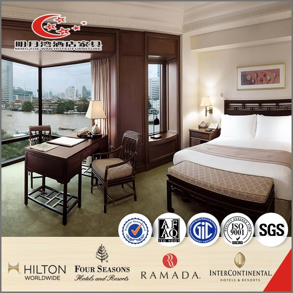 Hotel bedroom furniture high quality solid wood modern for High quality bedroom furniture