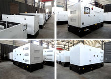 Canopy type weifang 30KW 1500rpm 3 phase generators for sale