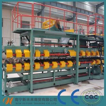 Glass wool sandwich panel cold roll forming machine