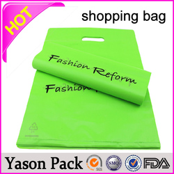 YASON plastic die cut bag shopping bag shopping bagsenvironmental wholesale alibaba china online shopping bag non