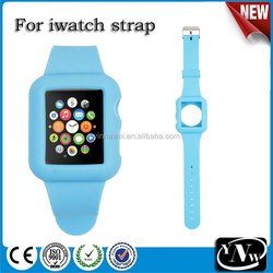 Best selling silicone strap for apple iwatch