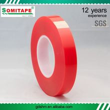 No-Residue UV Light Resistant 0.09-0.3Mm Pet Double Sided Tape