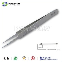 high quality stainless steel precision tweezers