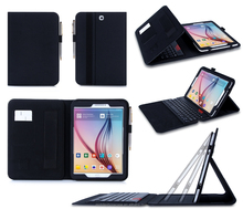 Top Premium PU Case With Keyboard For Samsung Galaxy Tab S2 SM-T810