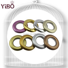 Simple design plastic big ring colored ring for curtains