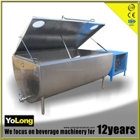 High quality stainless steel used milk cooling tank for sale