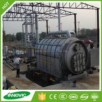 Competitive And Advantage Waste Tyre To Energy Pyrolysis Oil Machine