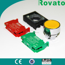 Rovato manufacturer made 22mm mini waterproof push button switch