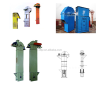 bush roller chain bucket elevator for chemical raw material transport