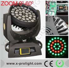 High quality Aura lighting show wedding uplight 36x10W wash light movin headlight zoom led light
