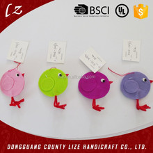 2015 hot sales new product home crafts holiday decorations handmade hanging felt ornaments for easter
