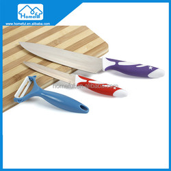 2015 New kitchen bamboo chopping board kitchen knife