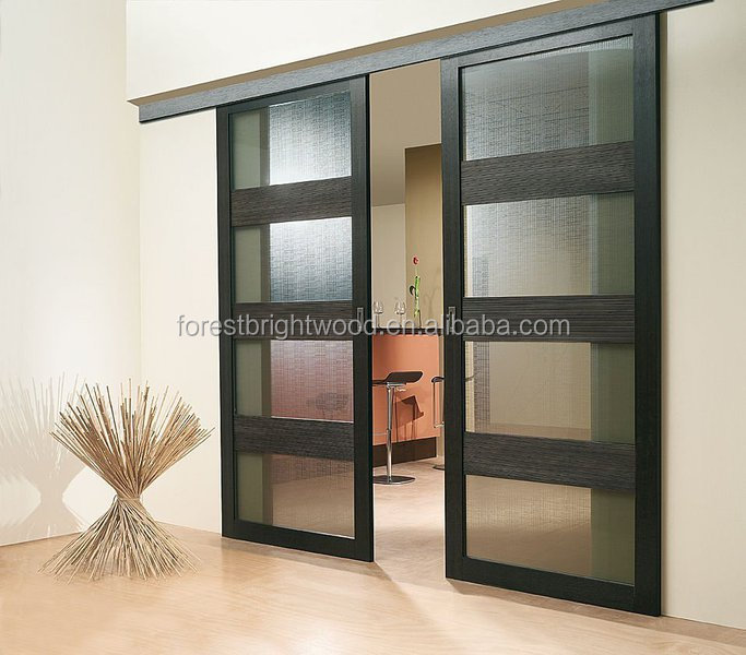 de madera balcn puerta corredera de cristal bolsillo balcn puerta de cristal