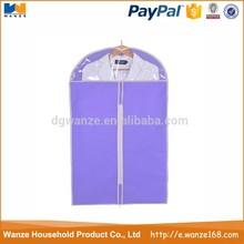 Cheap dance costume garment bag/fabric garment bag dry cleaning