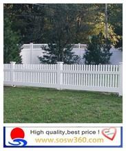 Decorative Plastic Garden Fence/Indoor And Outdoor Plastic Fence