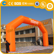 Oxford Inflatable advertising arch, printed inflatables, inflatable orange arch for sale